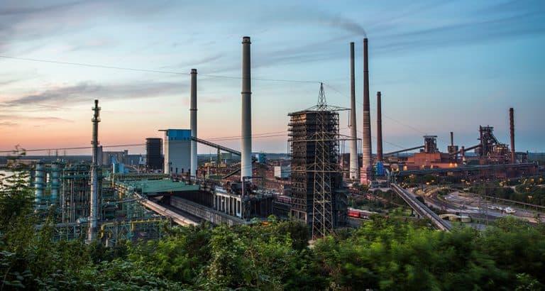 Beitragsbild: Skyline von Duisburg breit