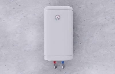 Der Warmwasserboiler Ausreichend Warmes Wasser Zu Jeder Zeit